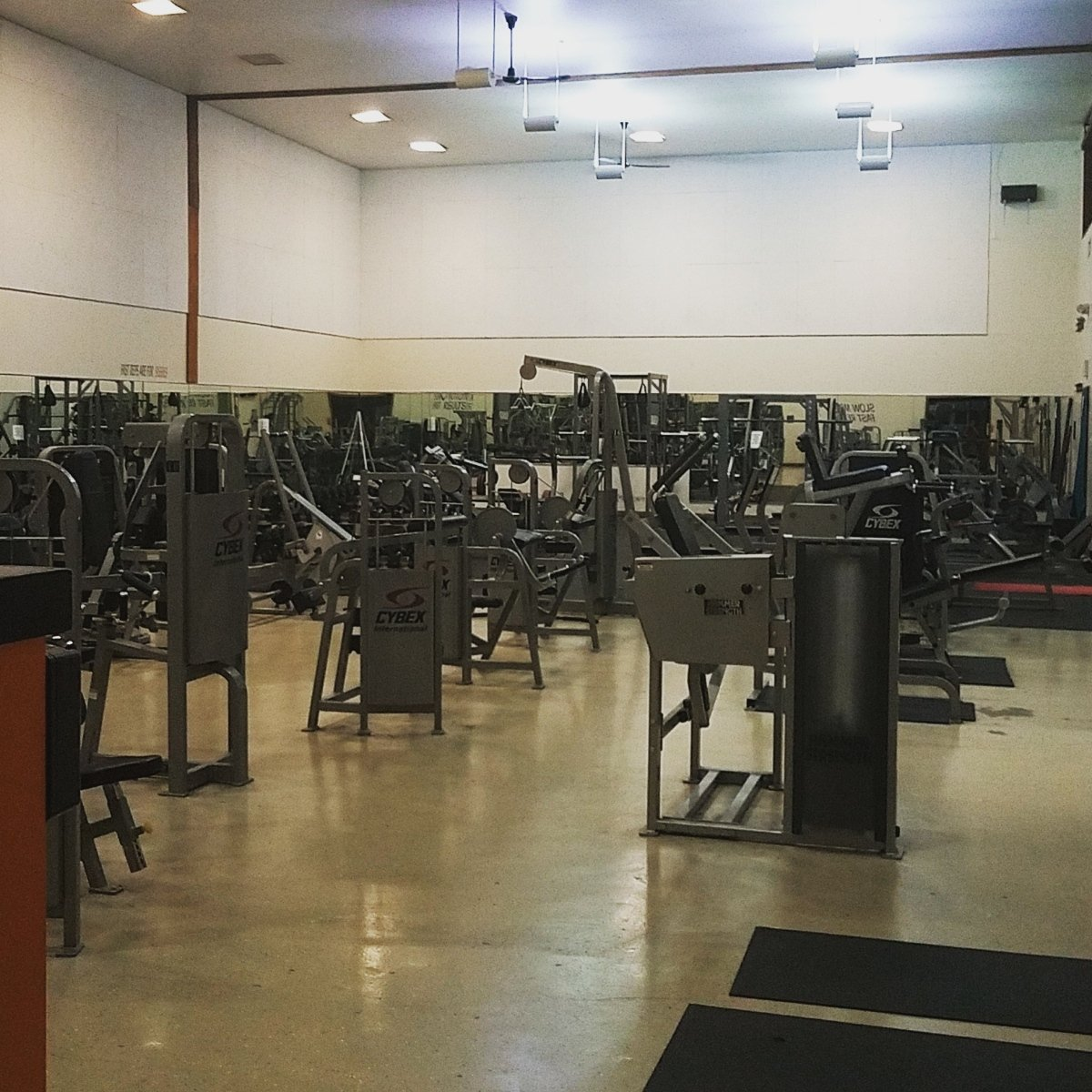 Weight Machines at ColumbusFit gym in Columbus Indiana